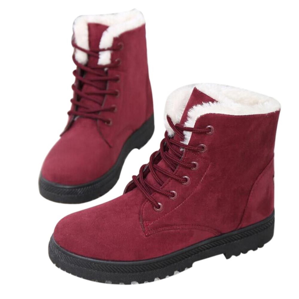 WOMEN'S SUEDE BOOTS HTB1 RED