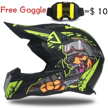 MOTOCROSS HELMET HTB1 DOG