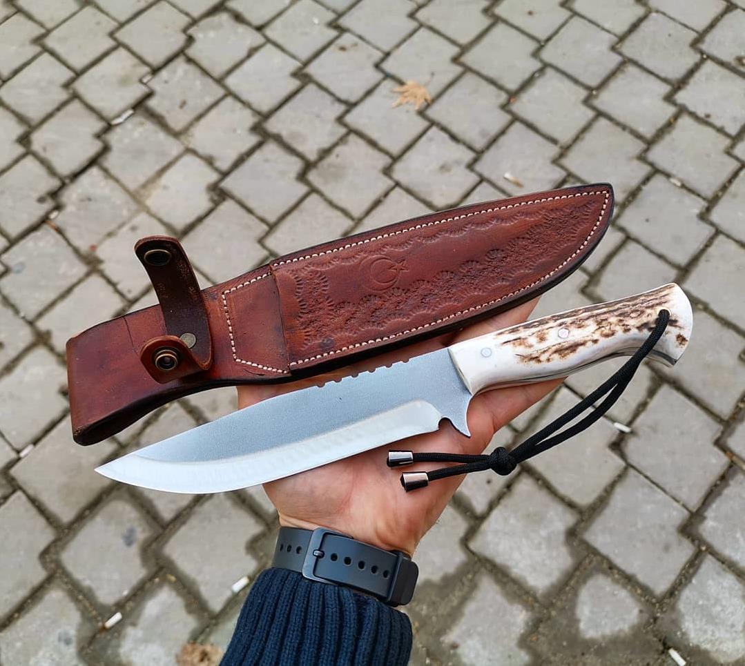 BUSHCRAFT HUNTING KNIFE HTB1 SKINNING KNIFE