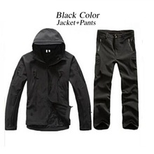 MEN'S TACTICAL JACKET SET HTB1 BLACK