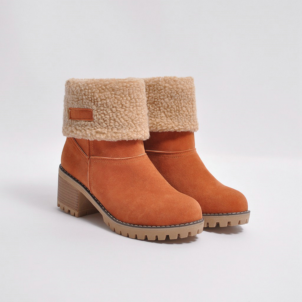 WOMEN'S SUEDE BOOTS HTB1 TAN
