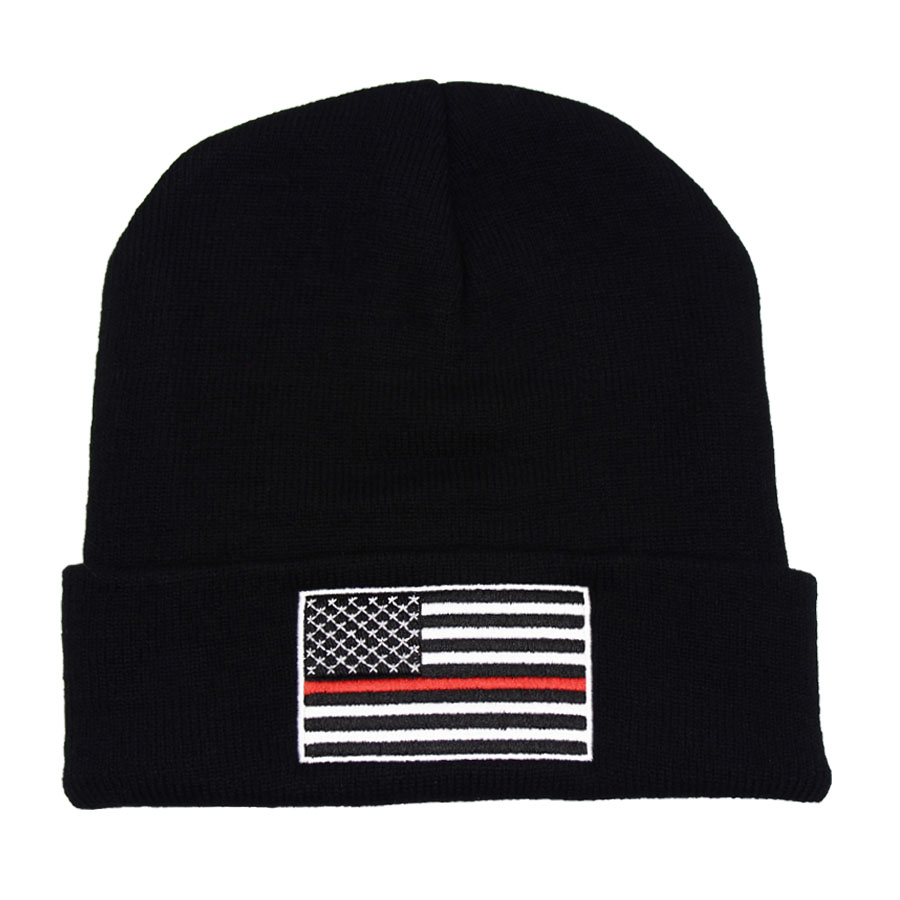 THIN BLUE LINE HAT HTB1 RED FLAG