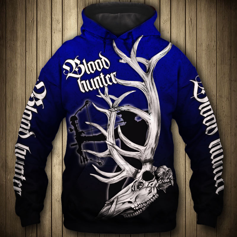 BLOOD HUNTER HOODIE HTB1 BLUE 2