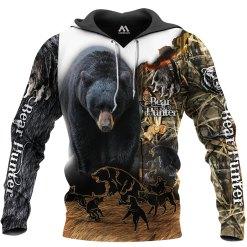 BLACK BEAR HUNTING HOODIE  HTB1 BEAR 2
