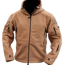 MEN'S FLEECE TACTICAL JACKET HTB1 SAND