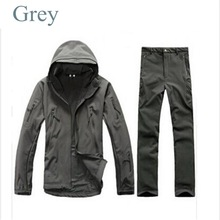 MEN'S TACTICAL JACKET SET HTB1 GREY