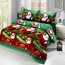 CHRISTMAS BED SET HTB1 GREEN
