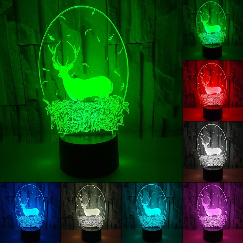 LED DEER TABLE LAMP HTB1 DEER