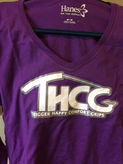 T-Shirt Purple (Womens Long Sleeve)