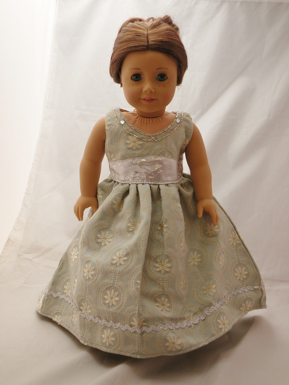 Holiday Gown Regency Dress
