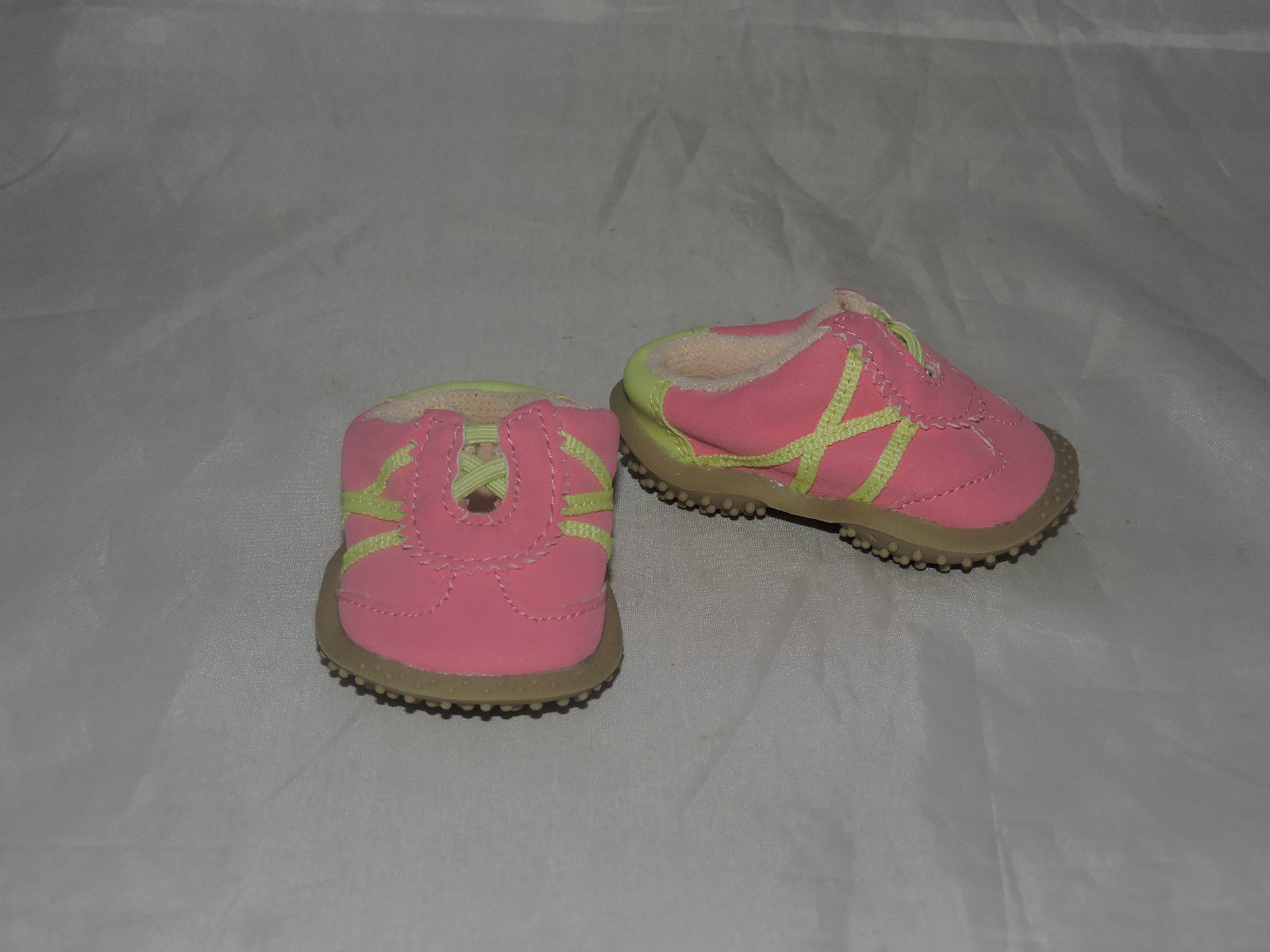 american girl pink and green retired sneakers