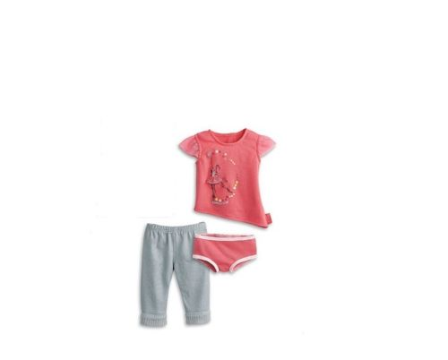 American girl Isabelle meet outfit