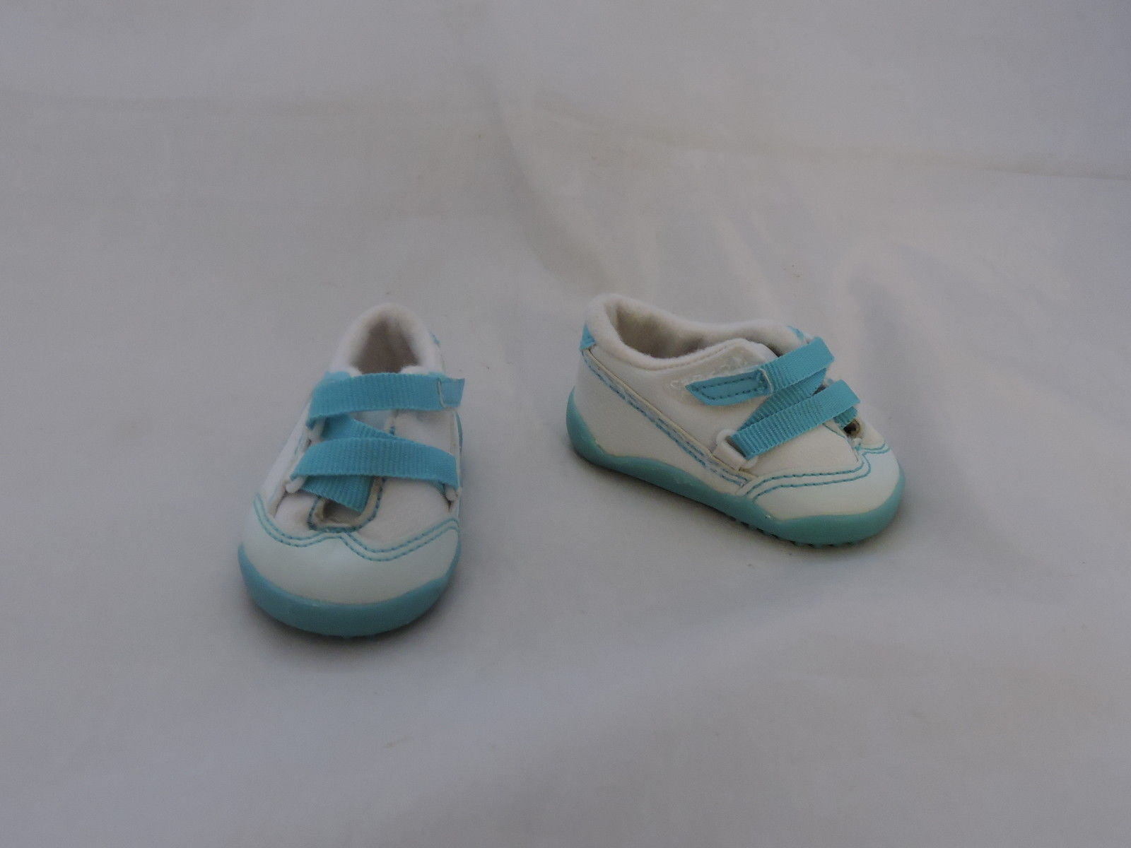 American girl retired blue and white sneakers