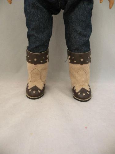 Cowboy boots two tones