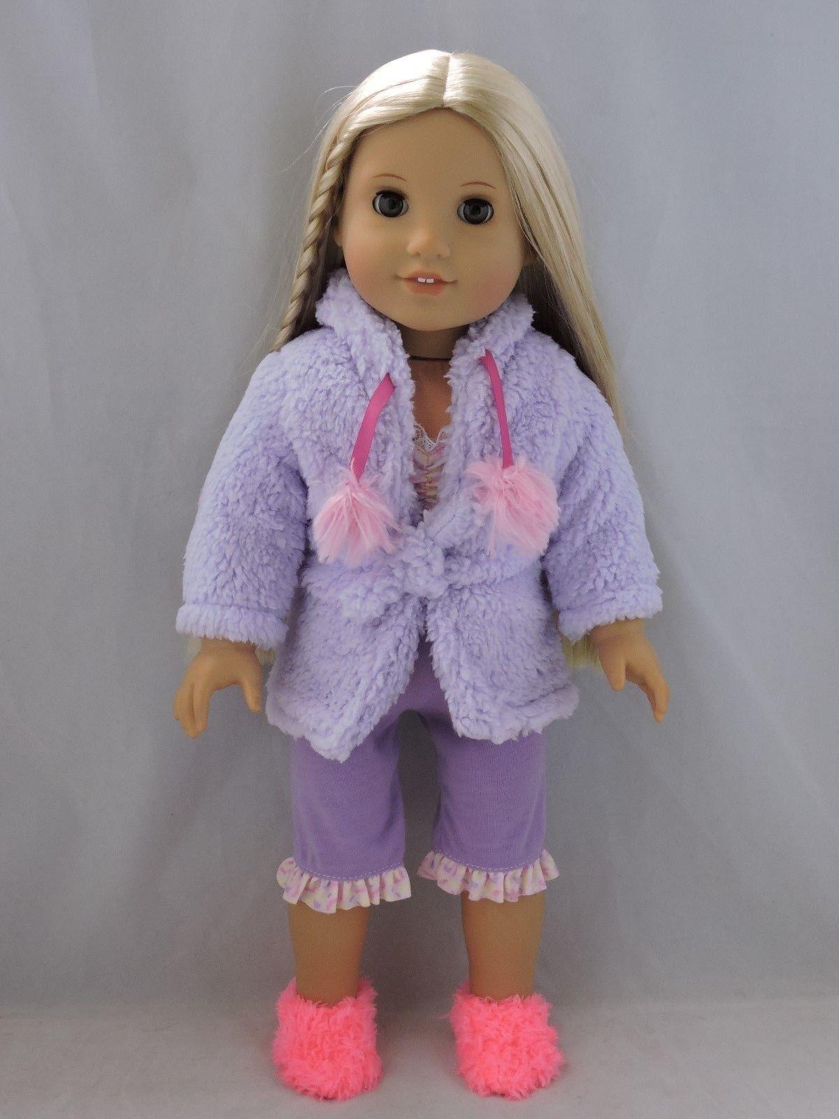 Puple Pajamas with Robe