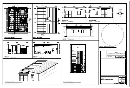Archivo digital. Planos del prototipo para viviendas
