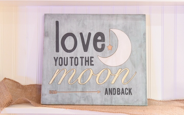 Love you to Moon & Back