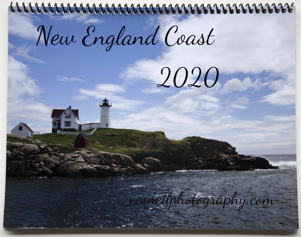 New England Coast Calendar