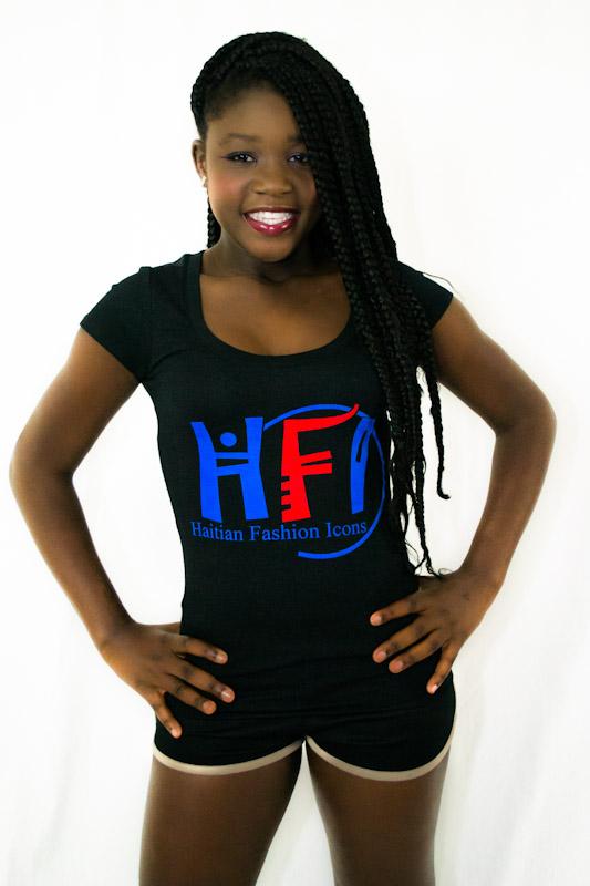 Scoop Neck Haitian Fashion Icons