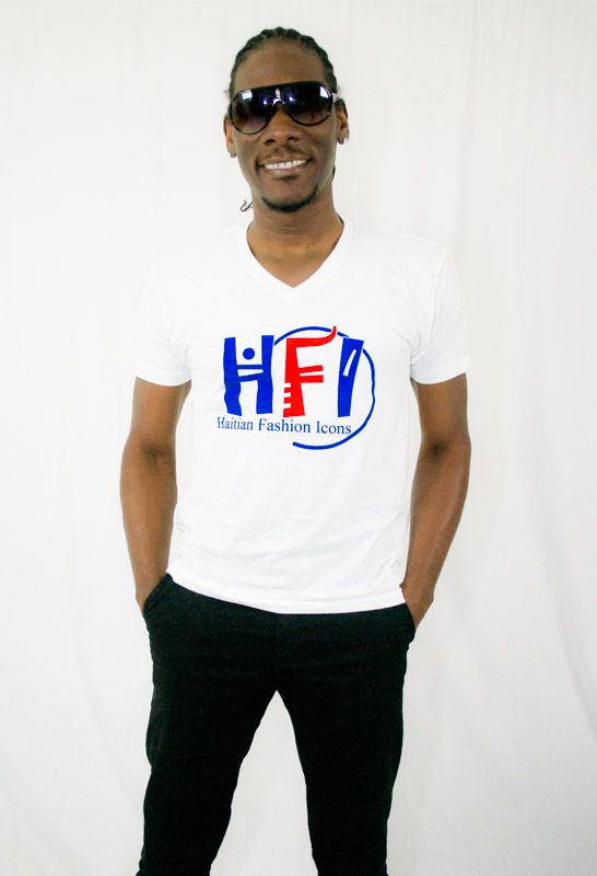 HFI V-Neck T-shirt