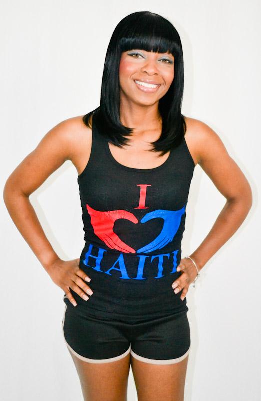 I Love Haiti Tank Top