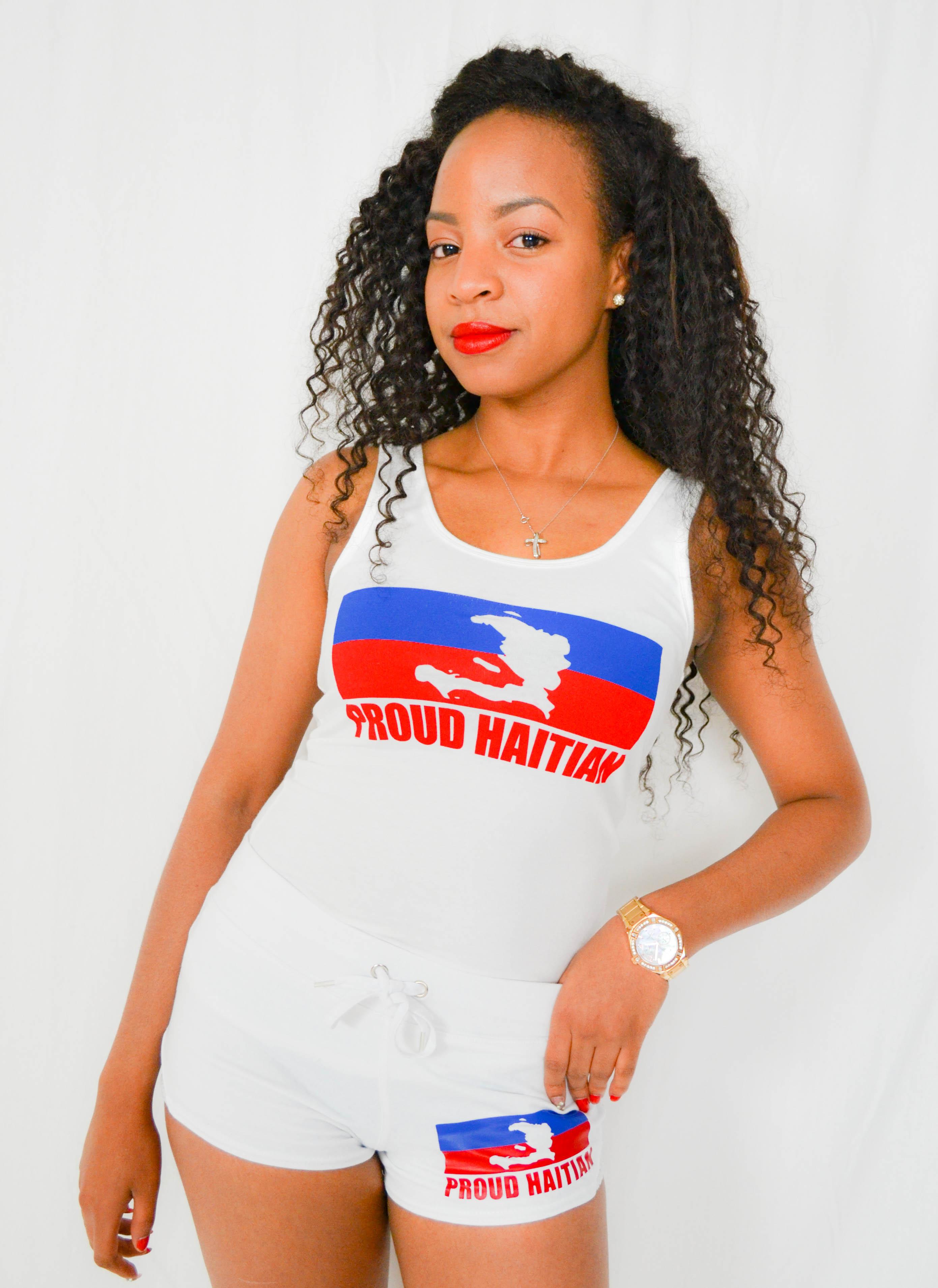 Proud Haitian tank top
