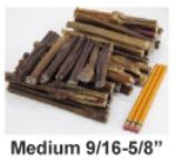 "USA 6"" Bully Stick Medium Thickness"