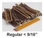 "USA 6"" Bully Stick Regular Thickness"
