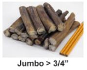 "USA 6"" Bully Stick Jumbo Thickness"