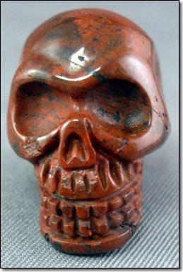 Skull Shape Jasper Crystal