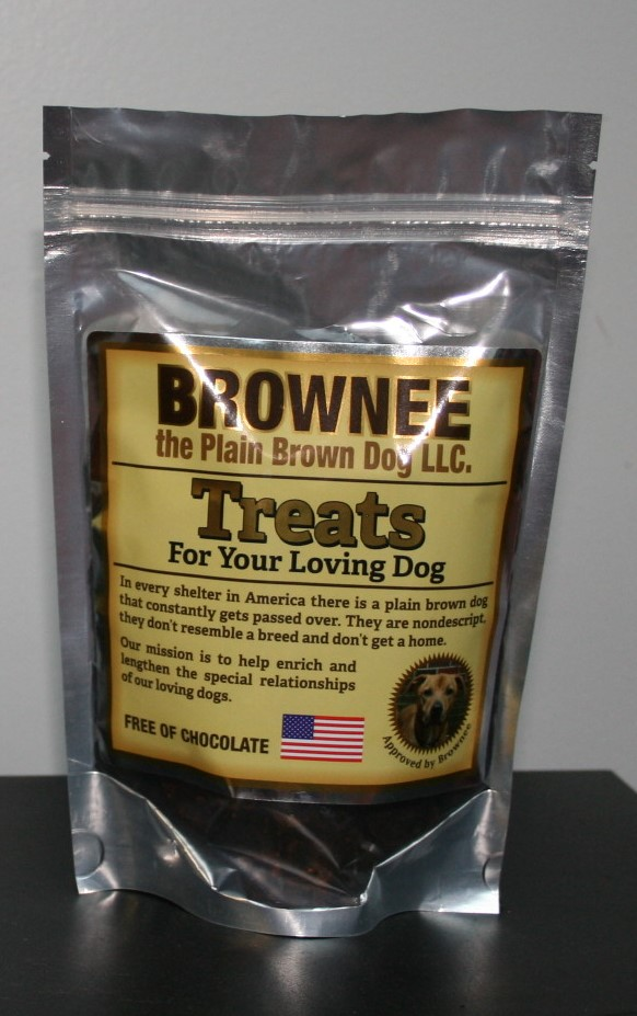 Brownee the Plain Brown Dog Treats