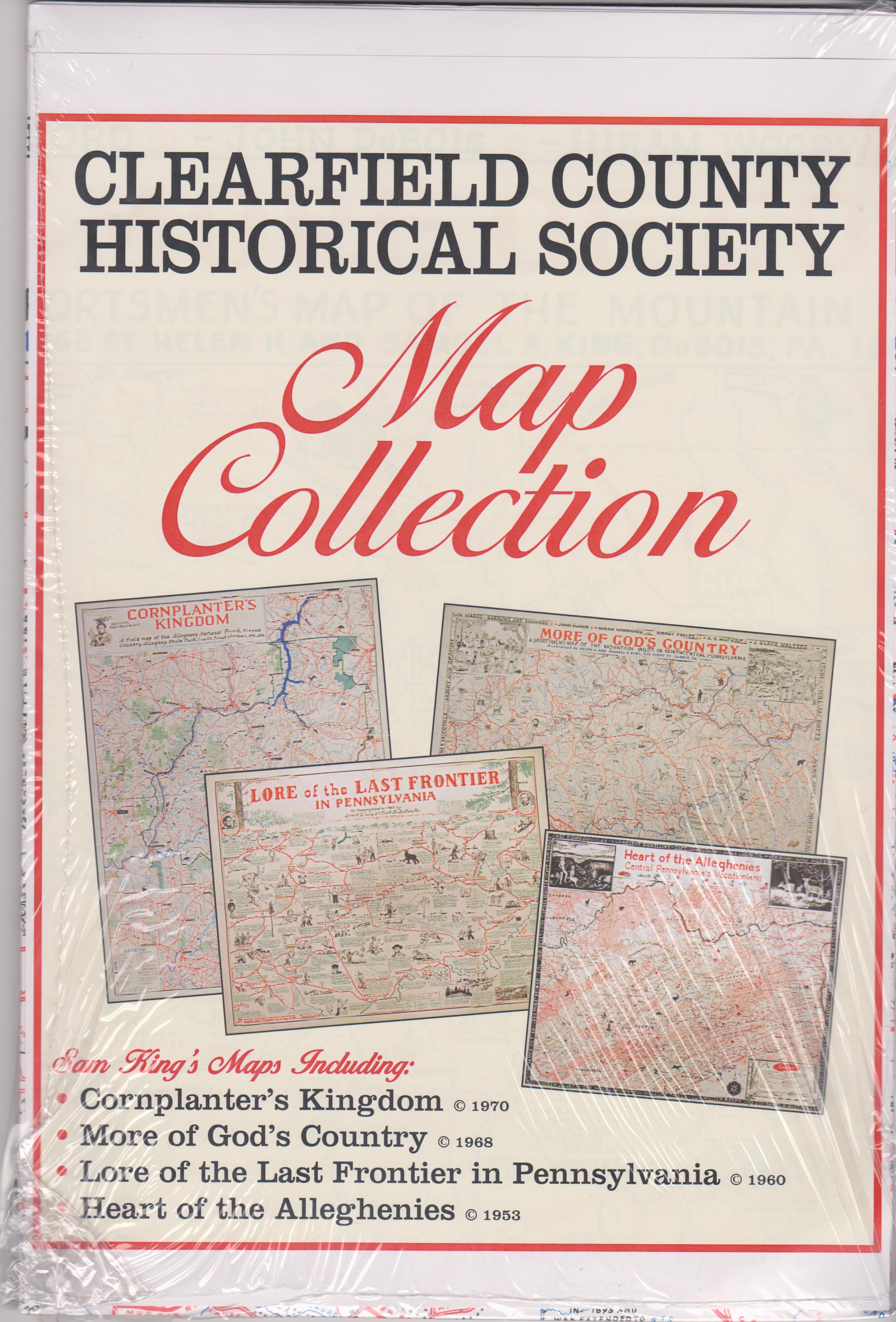 Buy all 7 Sam King's Maps for $30.00 - SAVE $5.00.