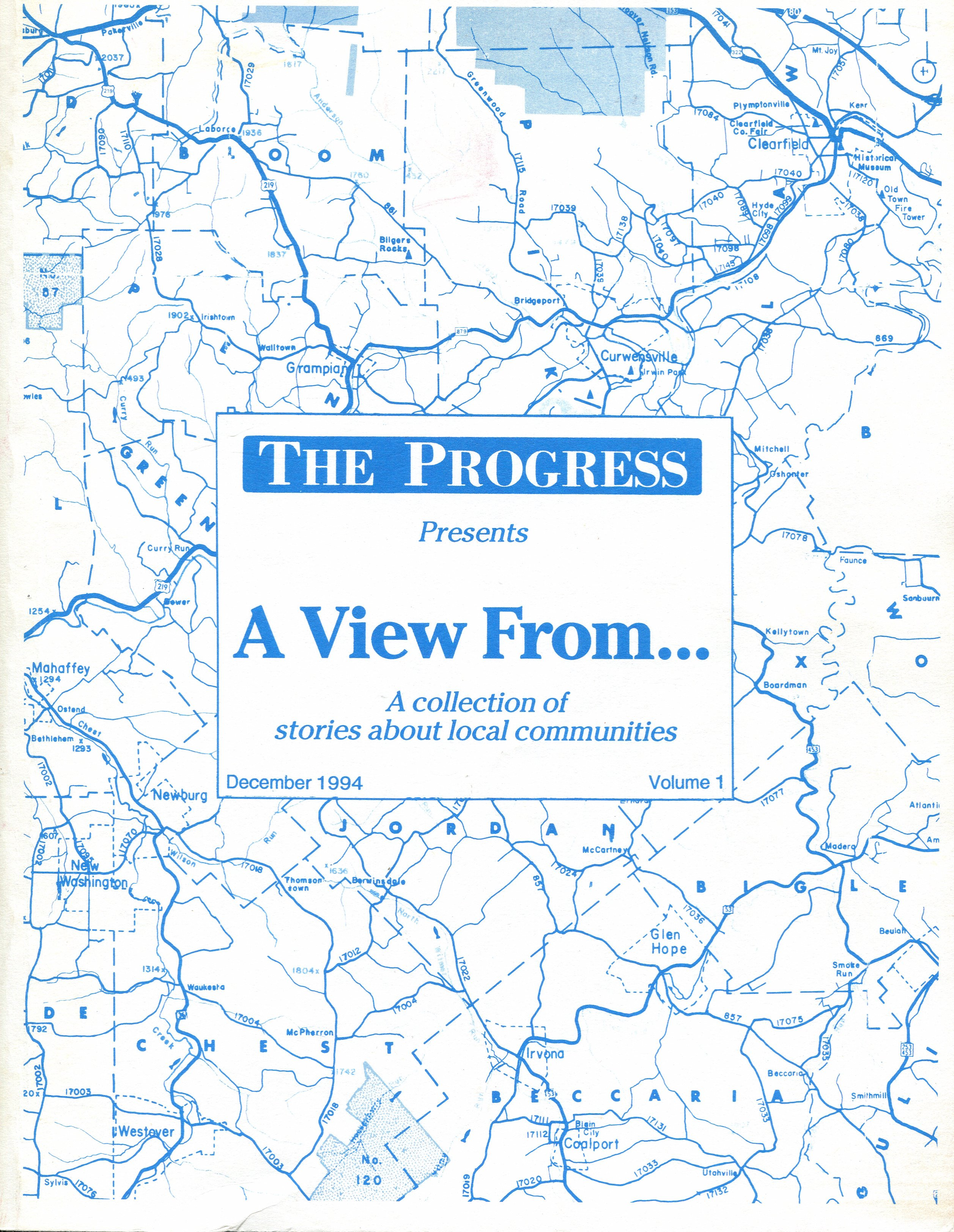 A View From the Progress, Volume #1'