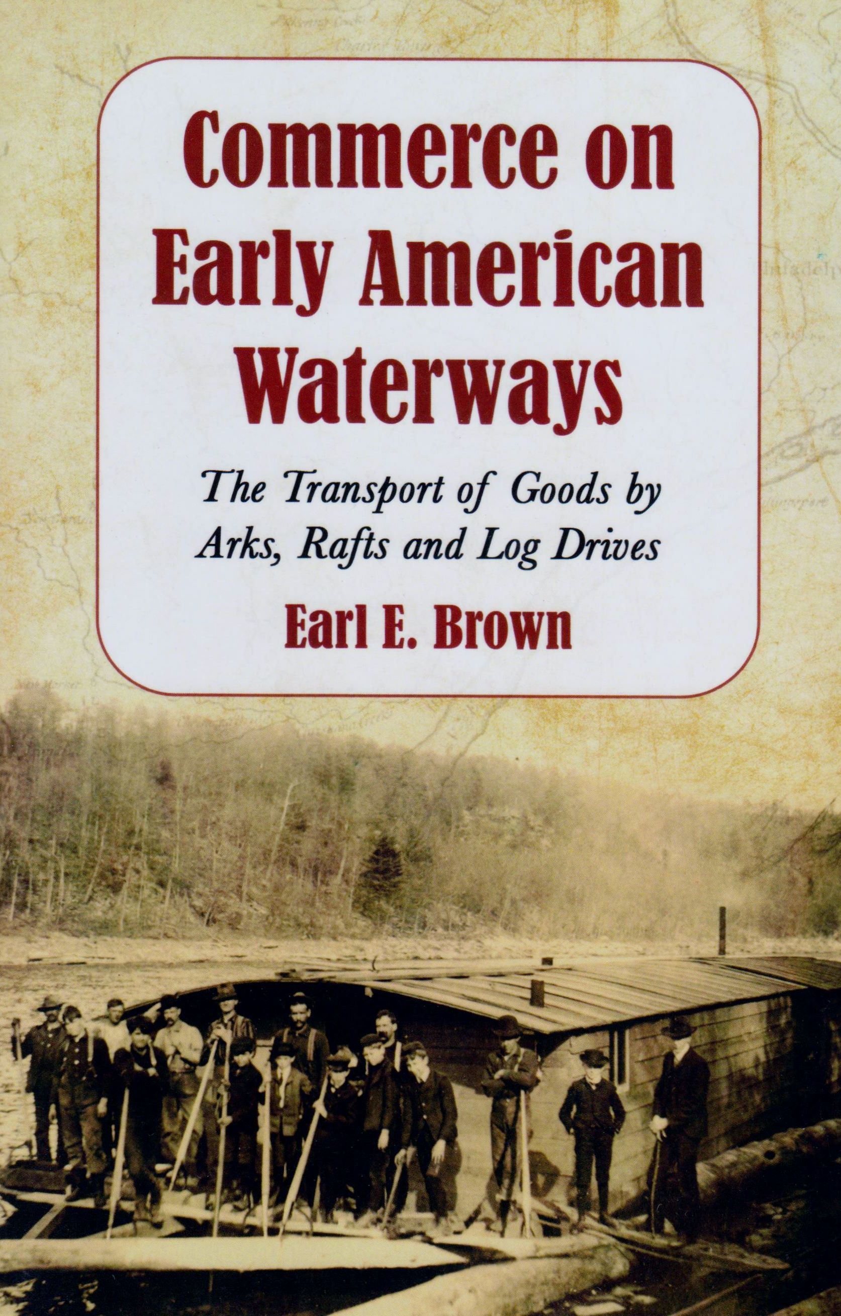 Commerce On Early American Waterway