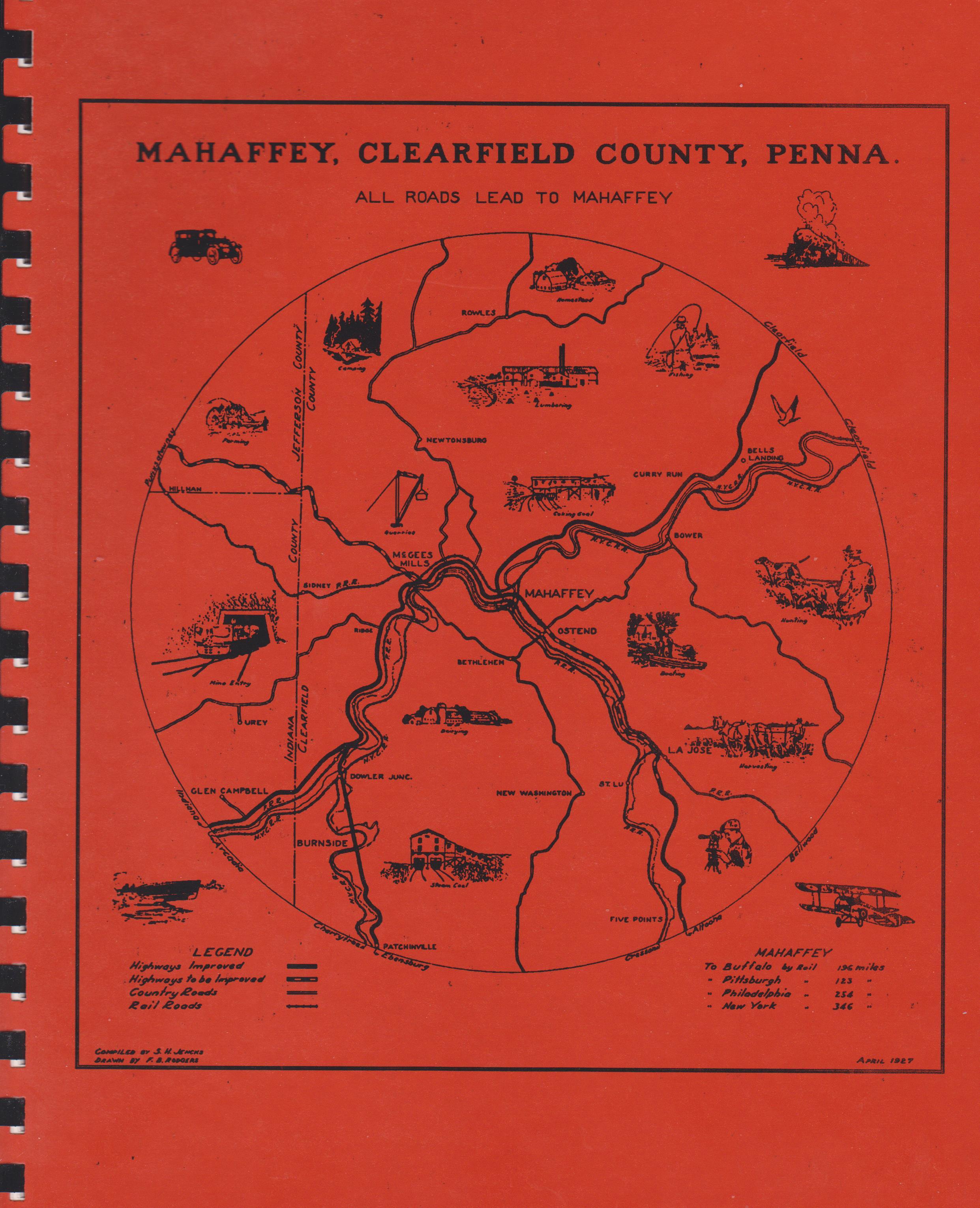 Mahaffey, Clearfield County PA - 100 Years of Heritage, 1889-1989