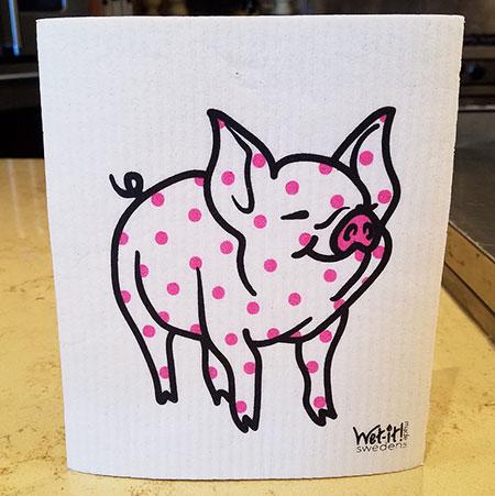 W4-11 Pink Dot Pig