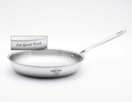 """""""Eat Good Food"""" Saute Pan"""