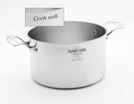 """Cook well."" Stock Pot"